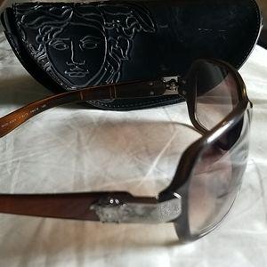 Versace Gradient Sunglasses